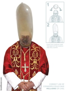 Dutch Sex Shop to Give Away 'Pope Condoms'