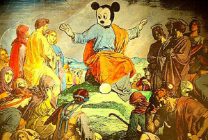 Russian Court Bans Mickey Mouse-as-Christ Painting